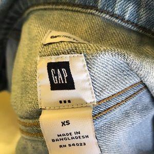 XS Gap Jean Jacket